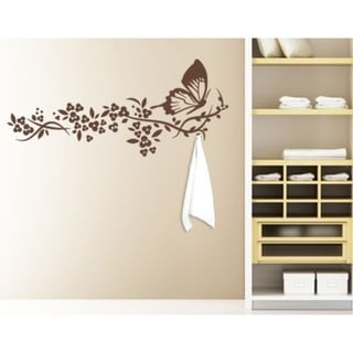 Butterfly Wall Hanger Decal Vinyl Art Home Decor