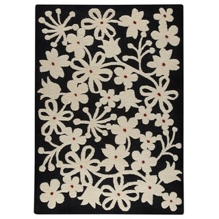 M.A. Trading Hand-tufted Indo Newport Charcoal Rug (8'3 x 11'6)
