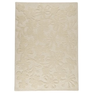 M.A. Trading Hand-tufted Indo Newport White Rug (8'3 x 11'6)