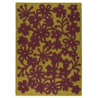 M.A. Trading Hand-tufted Indo Newport Green Rug (8'3 x 11'6)