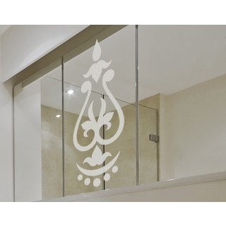 Oriental Ornament Window Glass Decal Vinyl Wall Art Home Decor