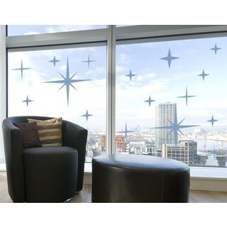 Stars Window Glass Decal Vinyl Wall Art Home Decor