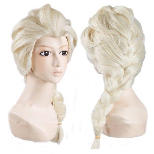 Costume Wig For Snow Queen Elsa