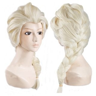Costume Wig For Snow Queen Elsa