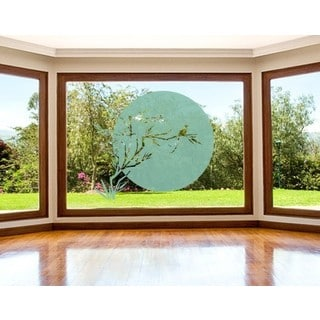 Japanese Sun Window Glass Decal Vinyl Wall Art Home Decor