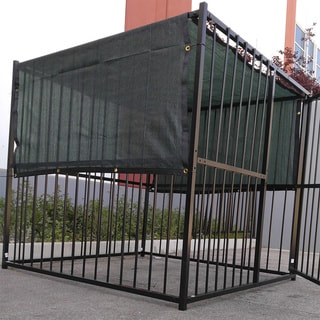 8' x 50' Dark Green Privacy Screen/ Windscreen