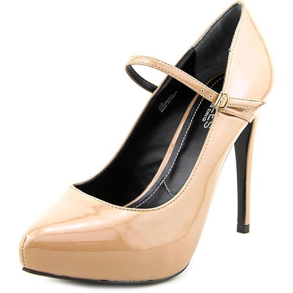 Beige,Patent Leather Womens Shoes - Overstock.com
