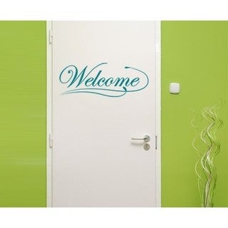 Welcome Wall Decal Vinyl Art Home Decor