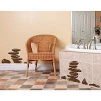 Calming Stones Wall Decal Vinyl Art Home Decor