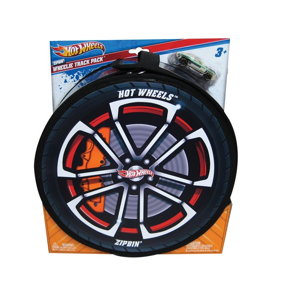 Neat-Oh Hot Wheels ZipBin Wheelie 100 Car Case with 1 Car