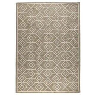 M.A.Trading Hand-Tufted Indo Alhambra Beige Rug (5'x8')