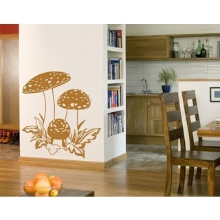Mushroom Trio Wall Decal Vinyl Art Home Decor