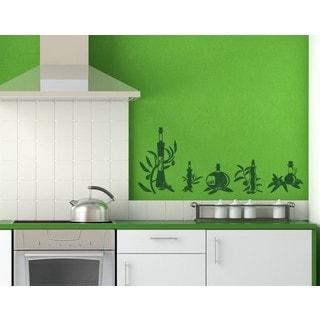 Oil Set Wall Decal Vinyl Art Home Decor