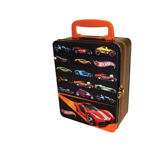 Neat-Oh Hot Wheels 18 Car Vintage Tin