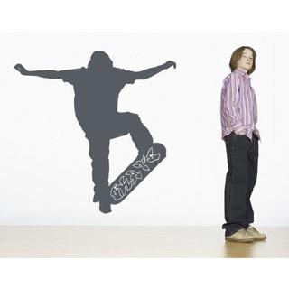 Cool Skater Wall Decal Vinyl Art Home Decor