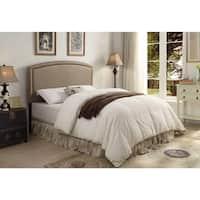 Blueridge Taupe Upholstered Queen / Full Headboard