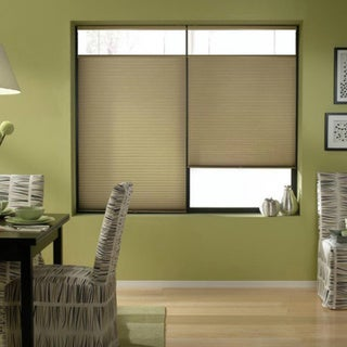 Gold Rush 63-63.5-inch Cordless Top Down Bottom Up Cellular Shades