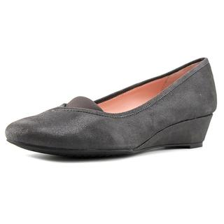 Taryn Rose Women's 'Peta' Grey Regular Suede Dress Shoes