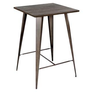 Link to Carbon Loft Samira Industrial-Farmhouse Bar Table - N/A Similar Items in Dining Room & Bar Furniture