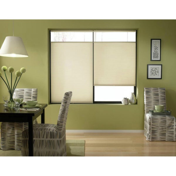 Cordless Top Down Bottom Up Espresso Cellular Shades 61 To 61 5 Inch Wide Free Shipping Today