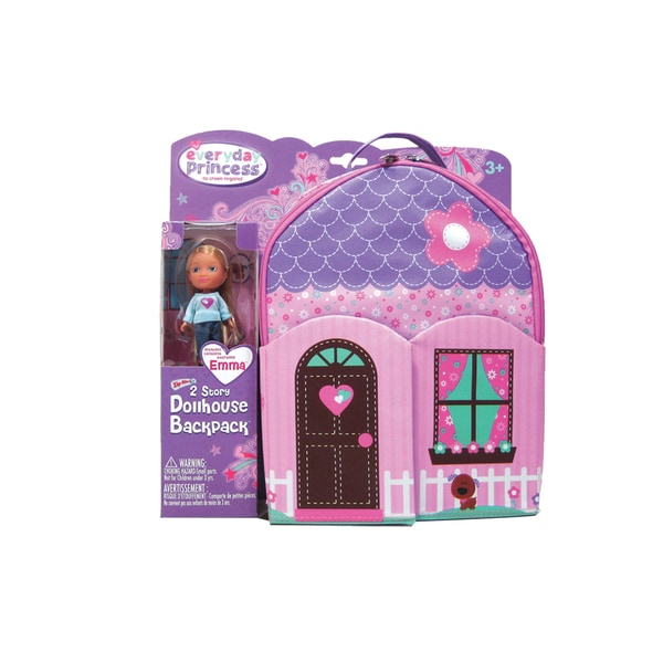 Neat-Oh Everyday Princess ZipBin 40 Doll Dollhouse Backpack with 1 Doll