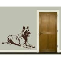 German Shepherd Wall Decal Vinyl Art Home Decor