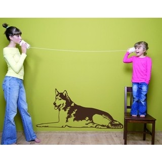 Husky Wall Decal Vinyl Art Home Decor