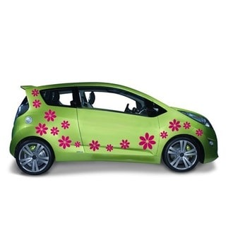 Flowers Car Decal Vinyl Wall Art Home Decor