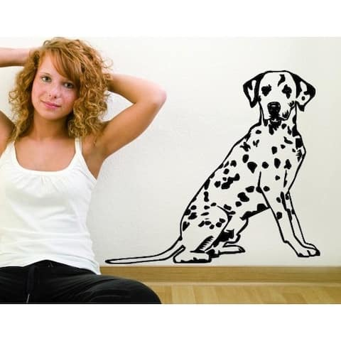 Dalmatian Dog Wall Decal Vinyl Art Home Decor