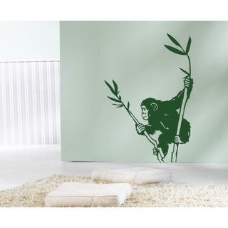Chimpanzee Wall Decal Vinyl Art Home Decor