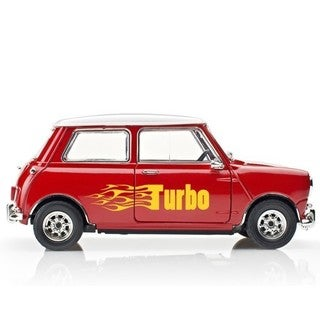Turbo Car Decal Vinyl Wall Art Home Decor