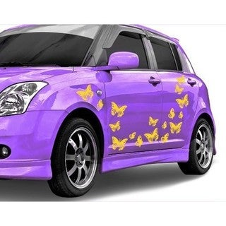 Butterfly Set Car Decal Vinyl Wall Art Home Decor (5 options available)