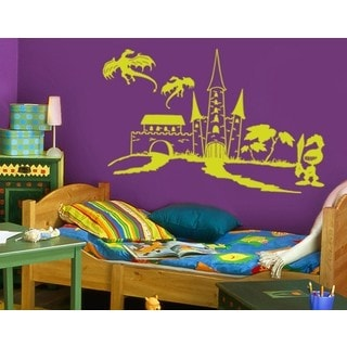Knight World Wall Decal Vinyl Art Home Decor