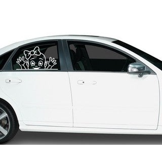 Funny Girl Car Decal Vinyl Wall Art Home Decor