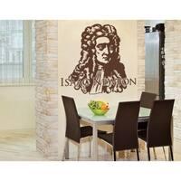 Isaac Newton Wall Decal Vinyl Art Home Decor