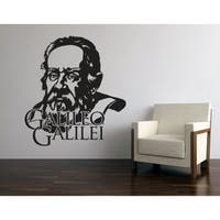 Galileo Galilei Wall Decal Vinyl Art Home Decor
