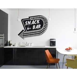 Snack Bar Wall Decal Vinyl Art Home Decor