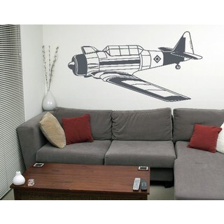 Small Bomber Wall Decal For Boys Wall Decal Vinyl Art Home Decor