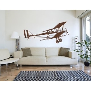 Biplane Wall Decal Vinyl Art Home Decor