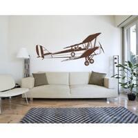 Biplane Wall Decal Vinyl Art Home Decor
