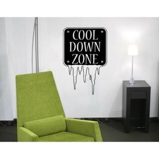Cool Down Wall Decal Vinyl Art Home Decor