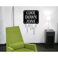 Cool Down Wall Decal Vinyl Art Home Decor