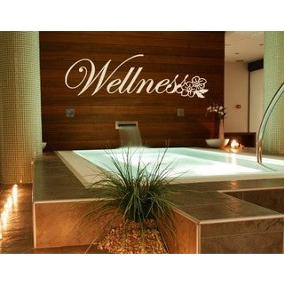 Wellness Wall Decal Vinyl Art Home Decor