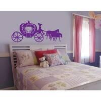 Horse-drawn Coach Wall Decal Vinyl Art Home Decor