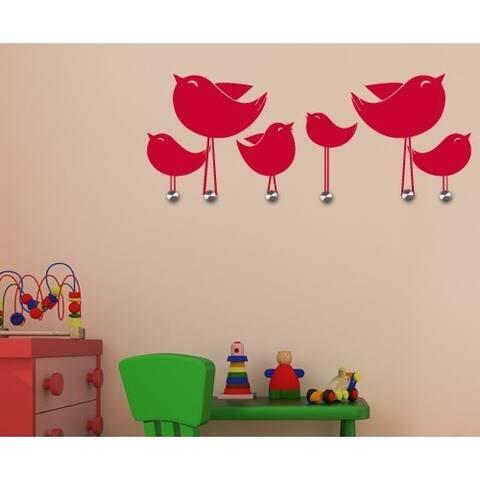 Little Birds Wall Hanger Decal Vinyl Art Home Decor