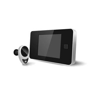 4-inch Screen Door Viewer with Doorbell