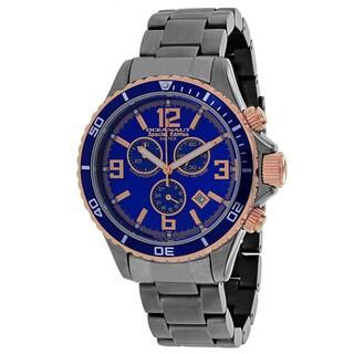 Oceanaut Men's Baltica Special Edition Round Gunmetal Stainless Steel Bracelet Watch