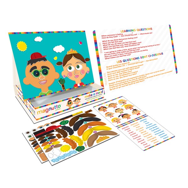 Neat-Oh Magnutto - Make a Mood - Educational Magnetic Activity