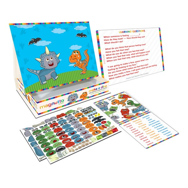 Neat-Oh Magnutto Make a Dino Educational Magnetic Activity