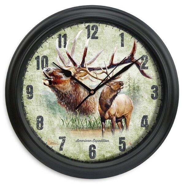 American Expedition 11.5in Diameter Clock